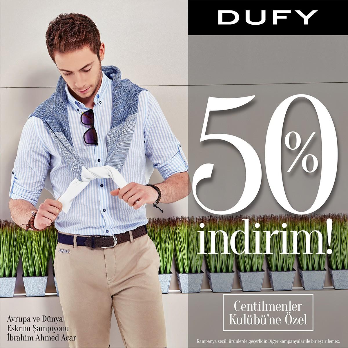 Dufy'den %50 indirim fırsatı
