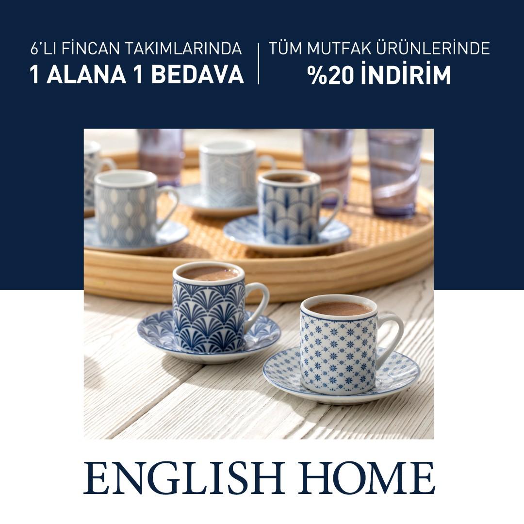 English Home'da 1 Alana 1 Bedava ve %20 İndirim Kampanyası Başladı