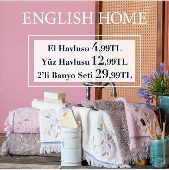 English Home'da banyo ürünlerindeki indirimleri kaçırmayın!