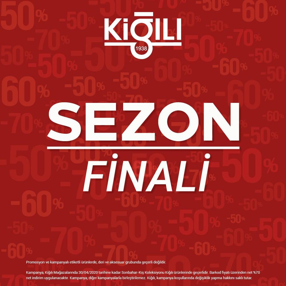 Kiğılı'da sezon finaline özel net %70 indirim fırsatı!