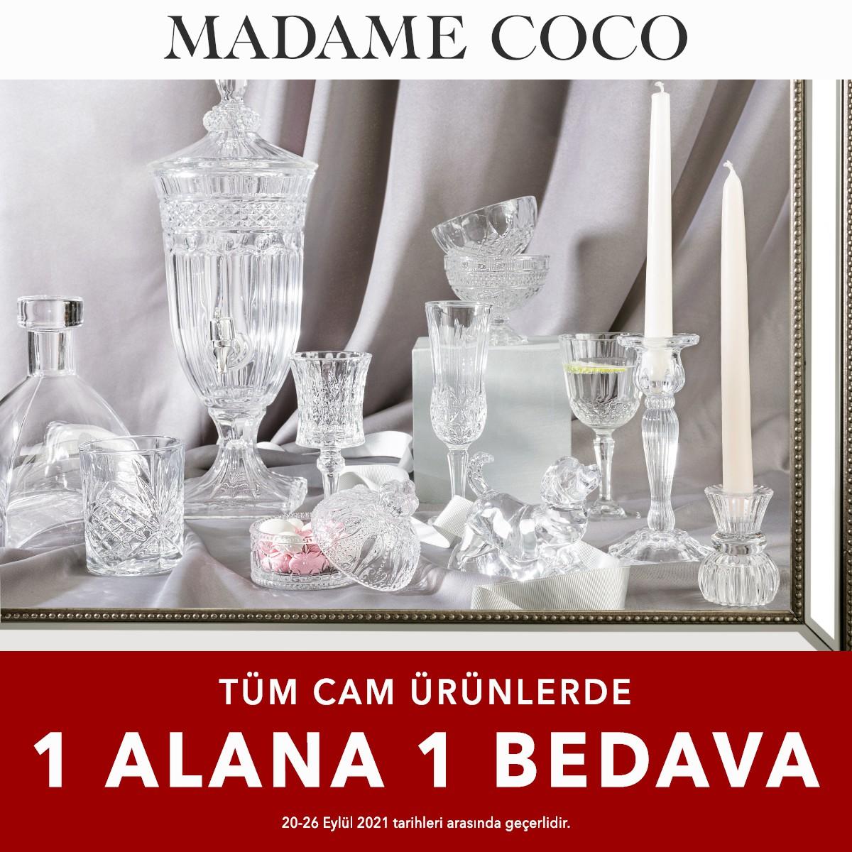 Madame Coco Tüm Cam Ürünlerde 1 Alana 1 Bedava