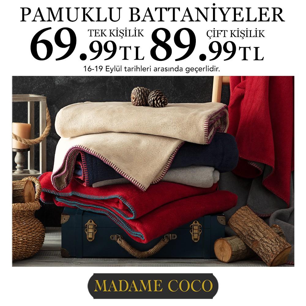 Pamuklu Battaniyelerde Fırsat!