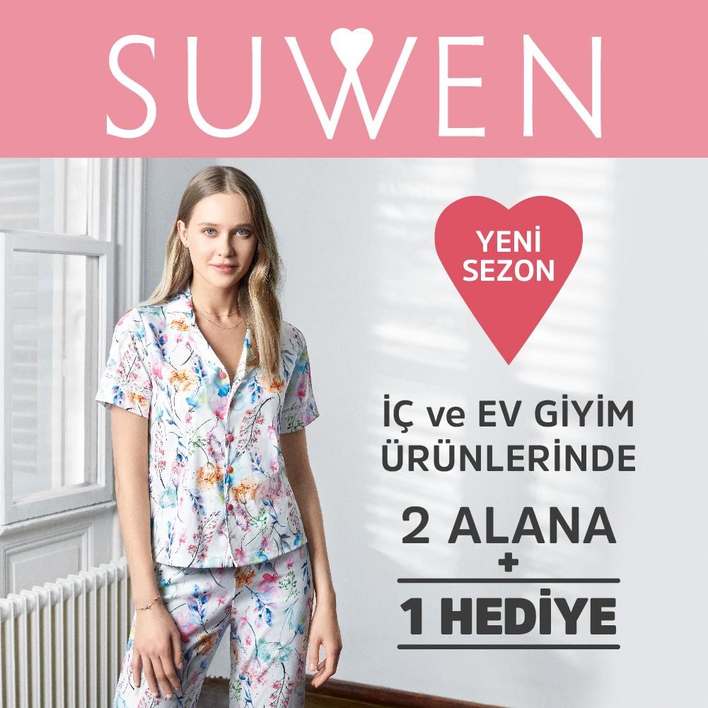 SUWEN'de yeni sezon ürünlerinde 2 alana 1 hediye! #bmigrosavm #suwen