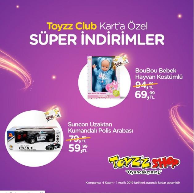 Toyzz Shop'ta Toyzz Club Kart'a özel indirimler Beylikdüzü Migros AVM'de sizleri bekliyor!