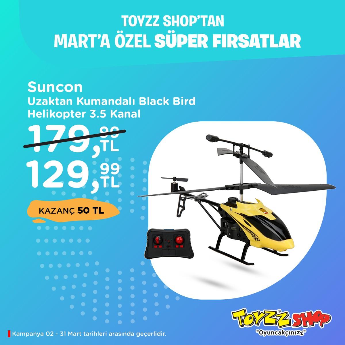 Toyzz Shop'tan mart ayına özel sürprizler Beylikdüzü Migros AVM'de sizi bekliyor.