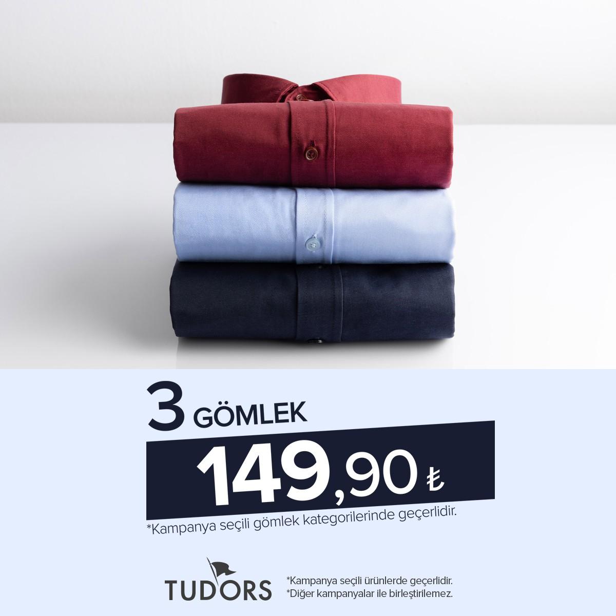 Tudors 3 Gömlek 149,90₺