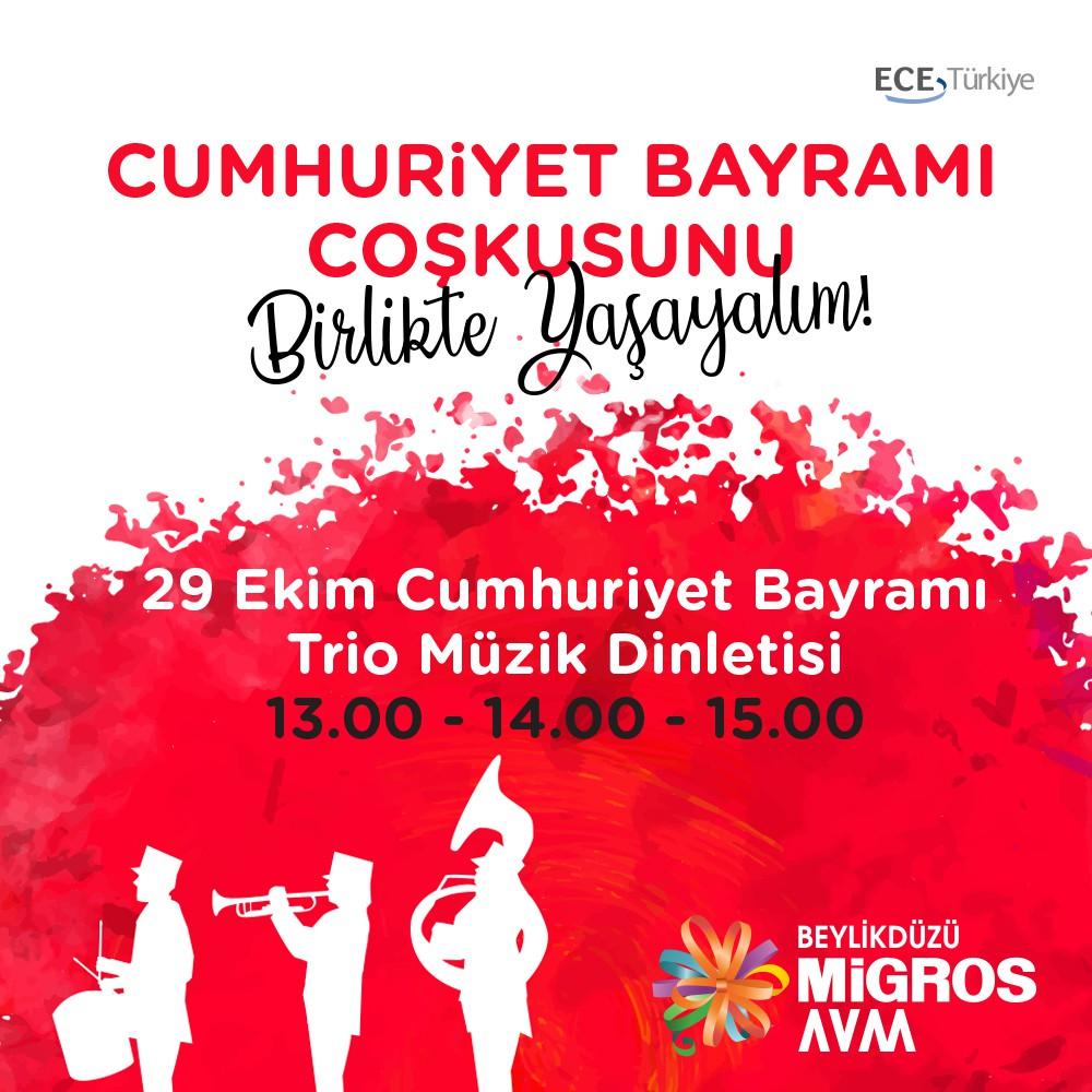 29 Ekim Trio Müzik Dinletisi