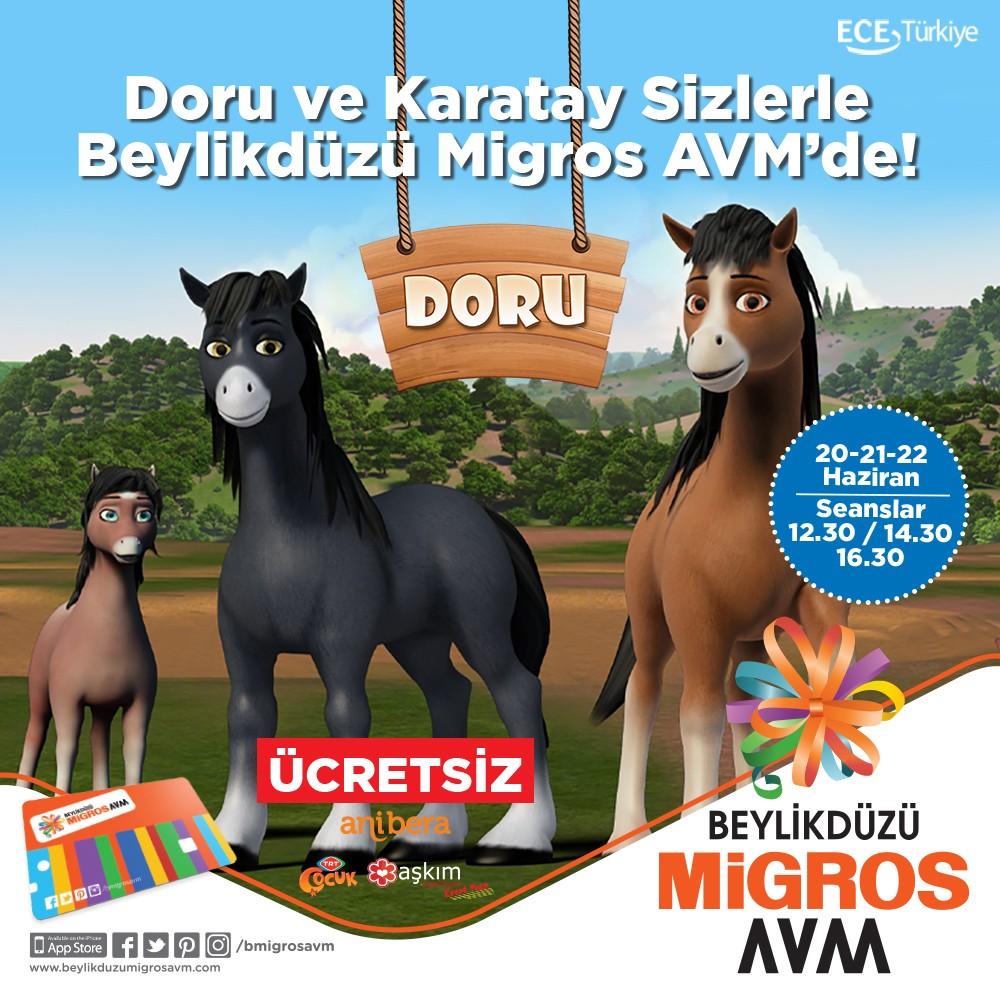 Doru ve Karatay Beylikdüzü Migros AVM'de!