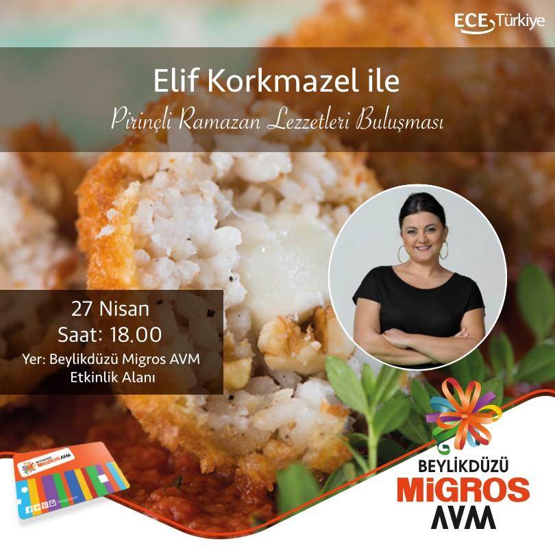 Elif Korkmazel ile Pirinçli Ramazan Lezzetleri Buluşması!