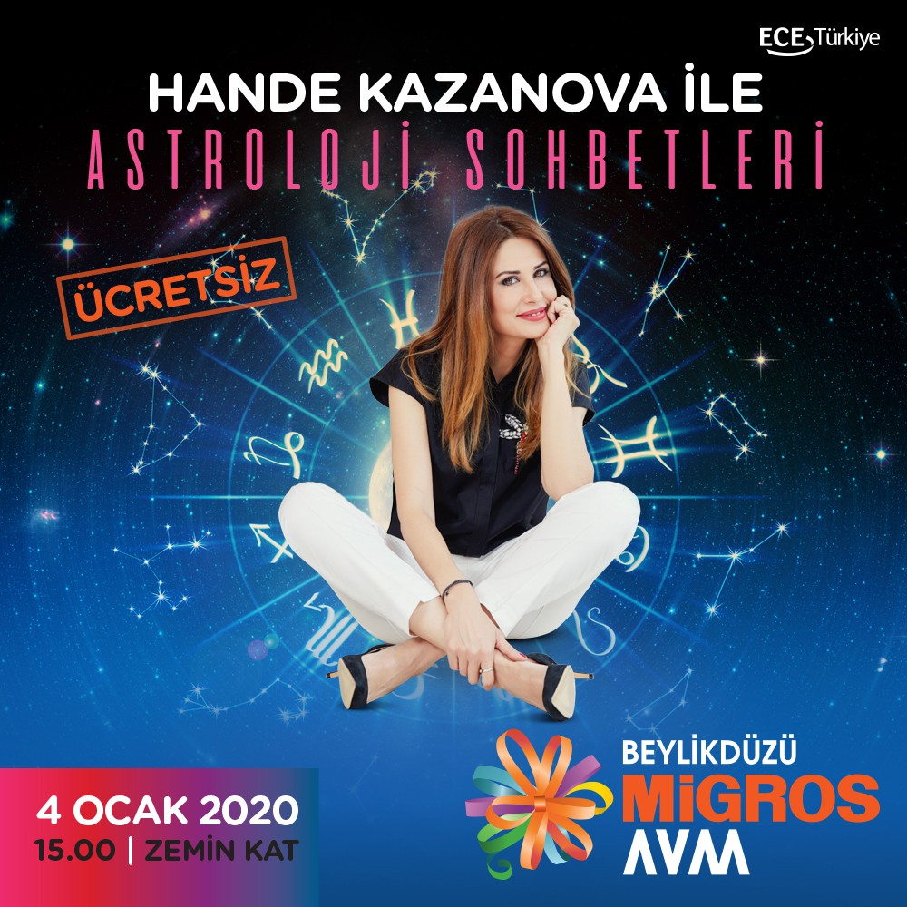 Hande Kazanova ile Astroloji Sohbetleri