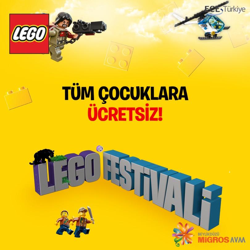 LEGO® Festivali Beylikdüzü Migros AVM'de!