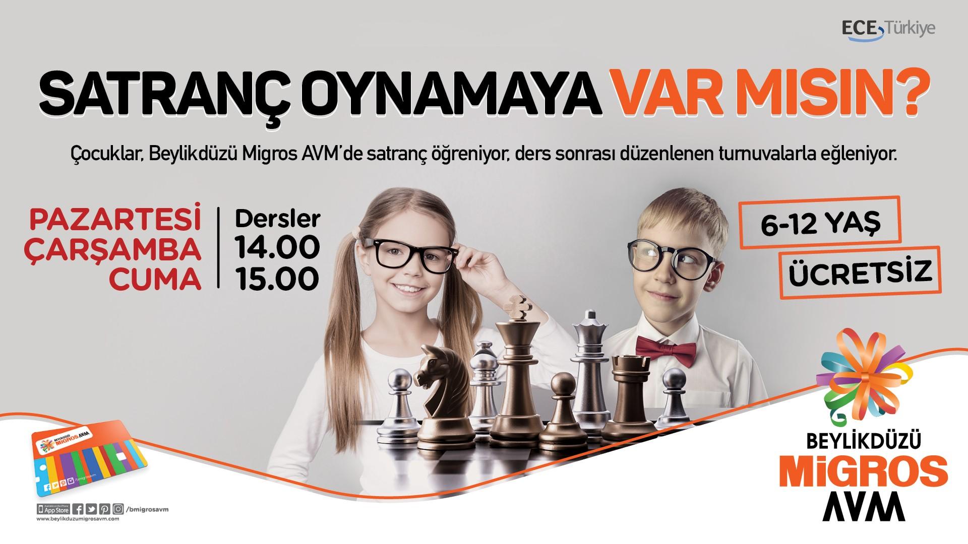 Satranç Oynamaya Var Mısın?